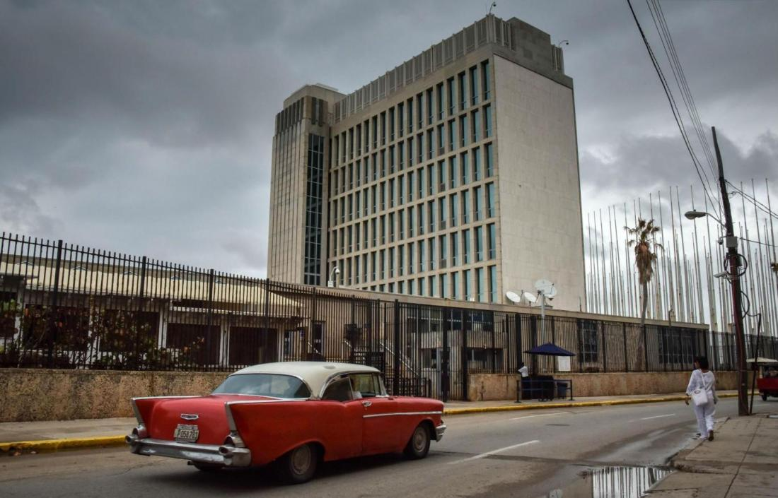 Oct. 2017 Cuba U.S. embassy : Getty