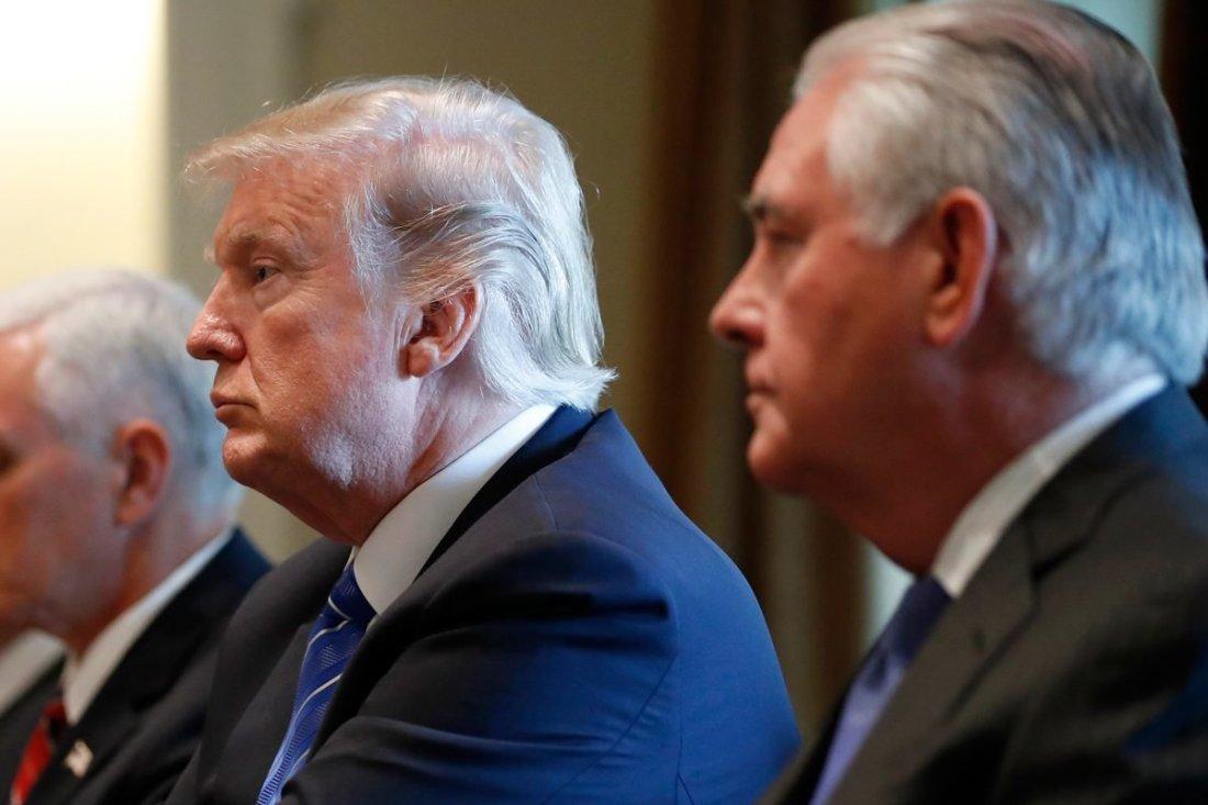 Oct. 2017 Trump Tillerson 2