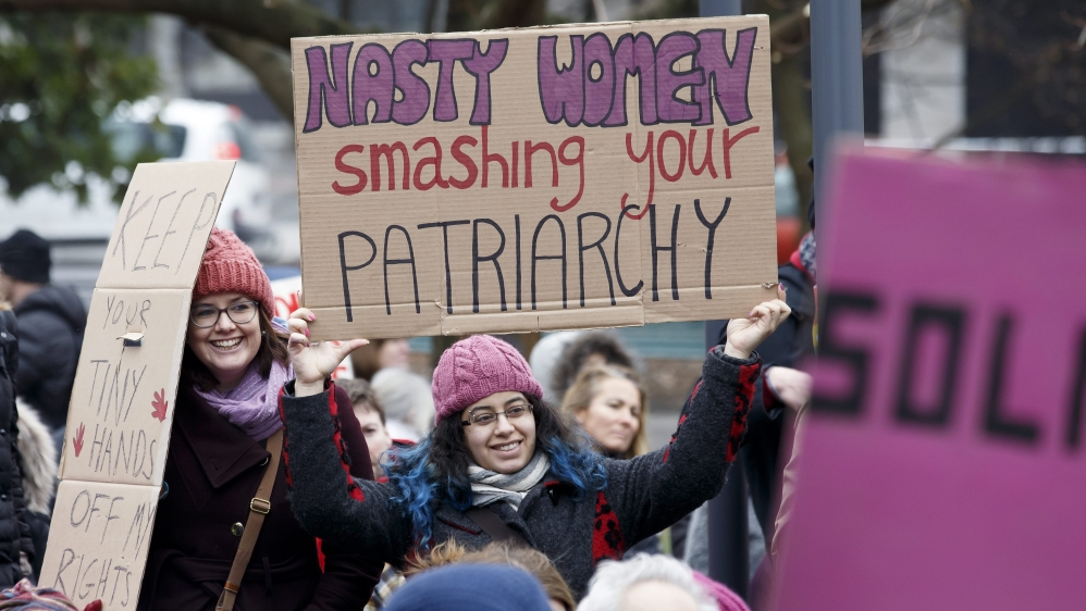 Jan. 2018 Nasty women