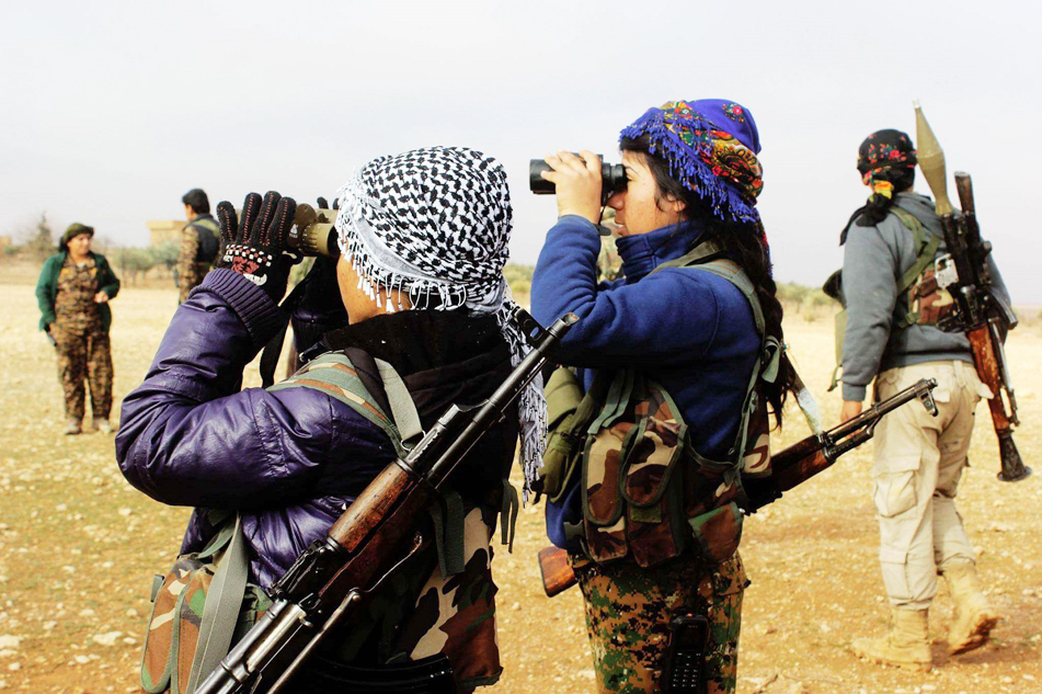 Feb. 2018 Kurdish fighters