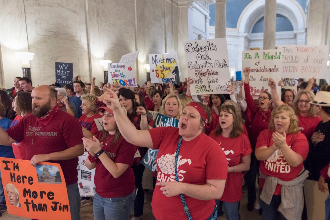 West Virginia Teachers Walkout