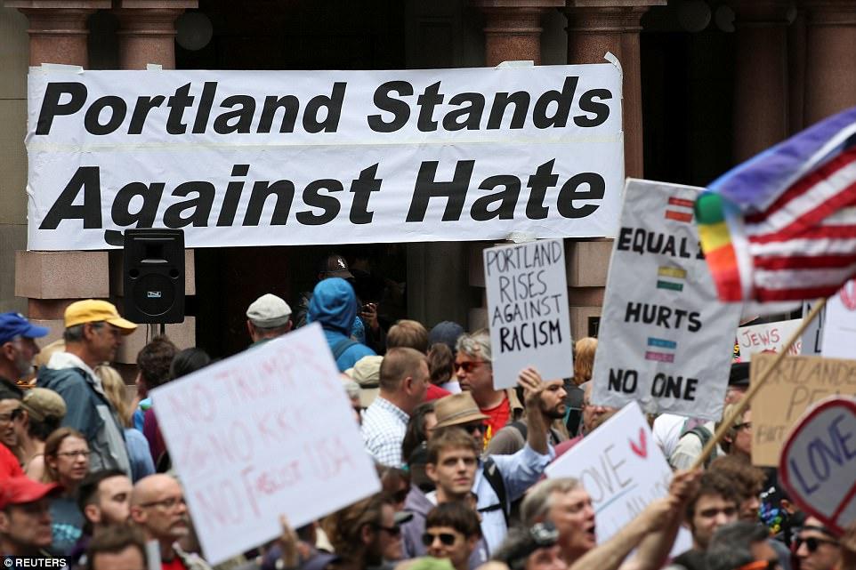 Aug. 2018 Portland hate