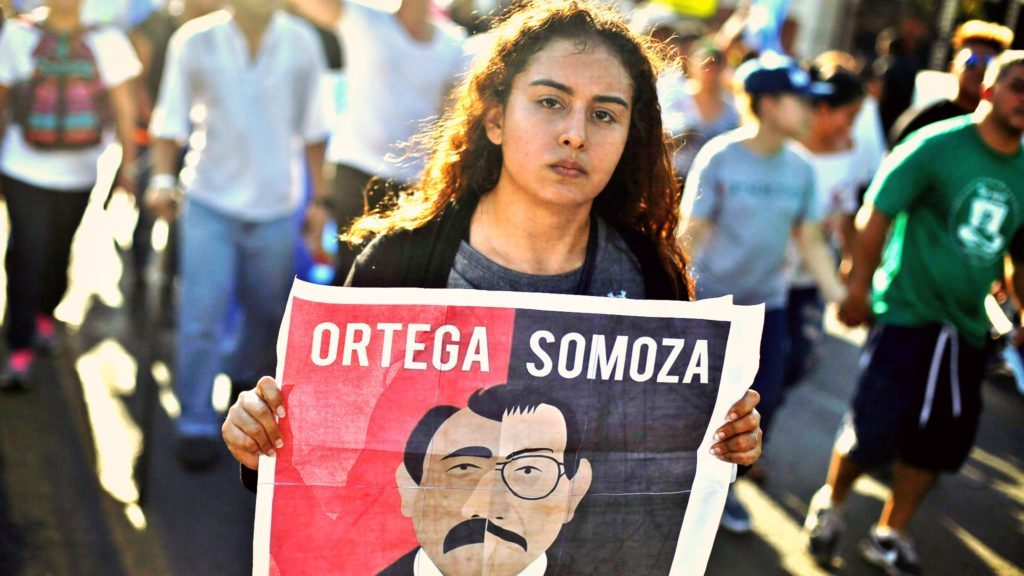 Sept. 2018 Nica protest