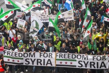 Syria demo