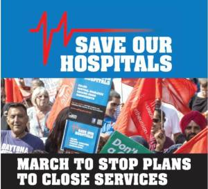 March & Rally for Ealing Hospital @ Ealing Hospital