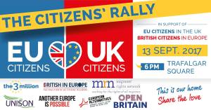 Mass lobby for rights of EU citizens in the UK & British citizens in the EU @ Palace of Westminster