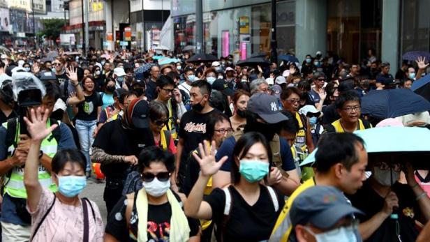 Nov. 2019 Hong Kong (Reuters)