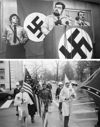 Oct. 2019 Nazi Harold Covington (Getty)