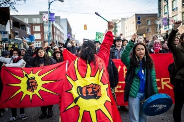 Feb. 2020 Indigenous protest