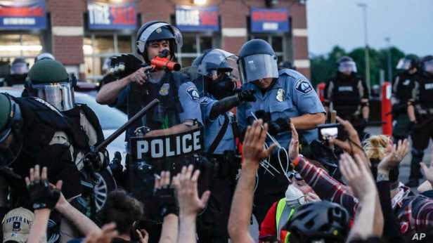 America Protests Minneapolis