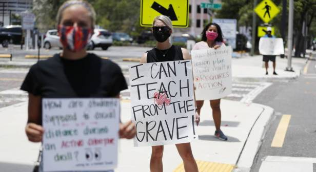 Teachers (Octavio Jones : Getty Im)