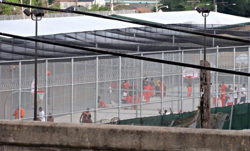 Black inmates at Orleans jail