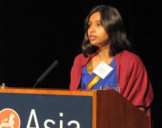 Devyani Khobragade, former deputy consul general for India in New York City (Elsa Ruiz | Asia Society)