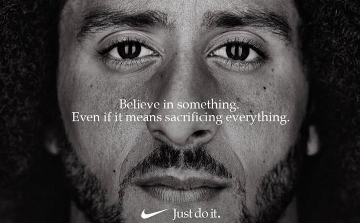 """Colin Kaepernick tapped for new Nike """"Just Do It"""" campaign"""