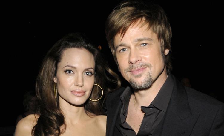 Brad Pitt and Angelica Jolie