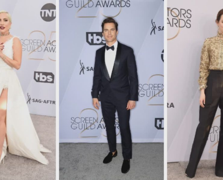 2019 SAG Awards Best Dressed Red Carpet