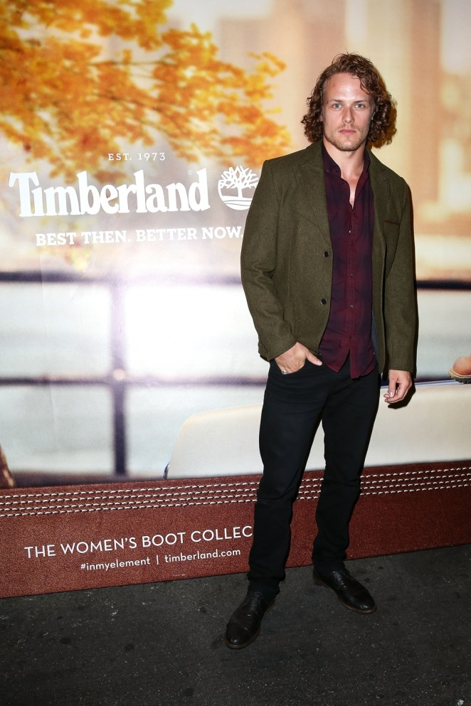 Sam Heughan Timberland Fall 2014 Concert Event Featuring Young The Giant