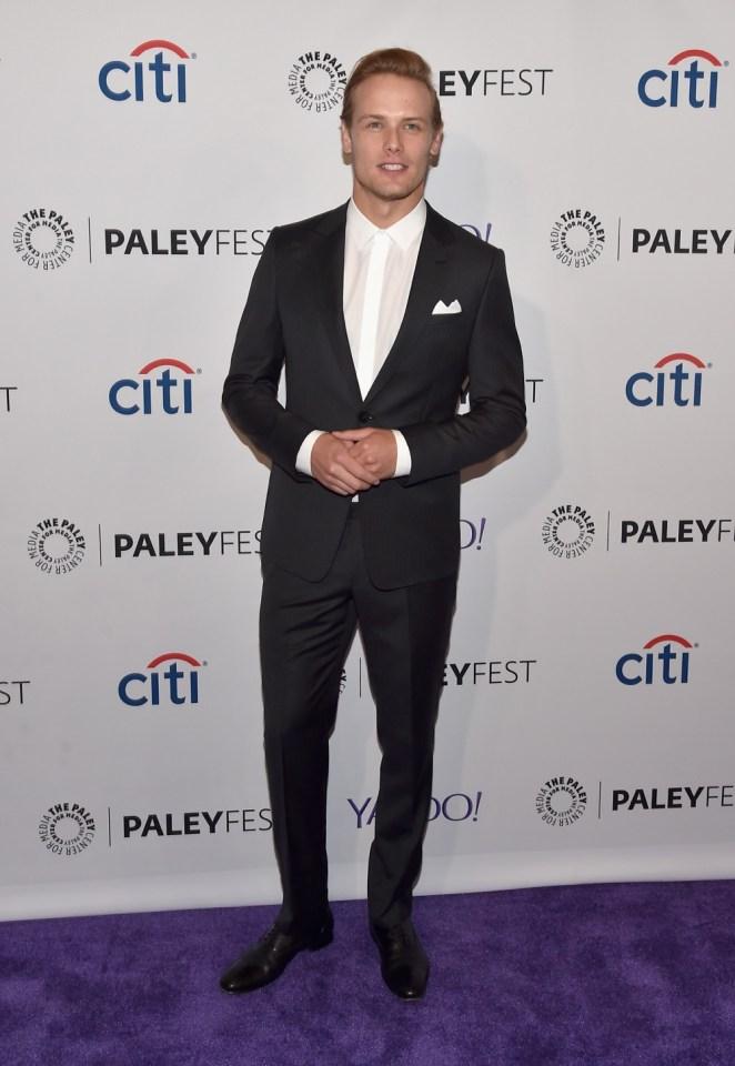 "Sam Heughan The Paley Center For Media's 32nd Annual PALEYFEST LA - ""Outlander"" - Arrivals"
