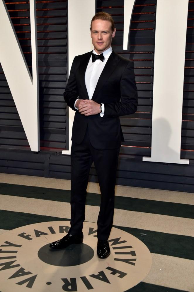 Sam Heughan 2017 Vanity Fair Oscar Party Hosted By Graydon Carter - Arrivals