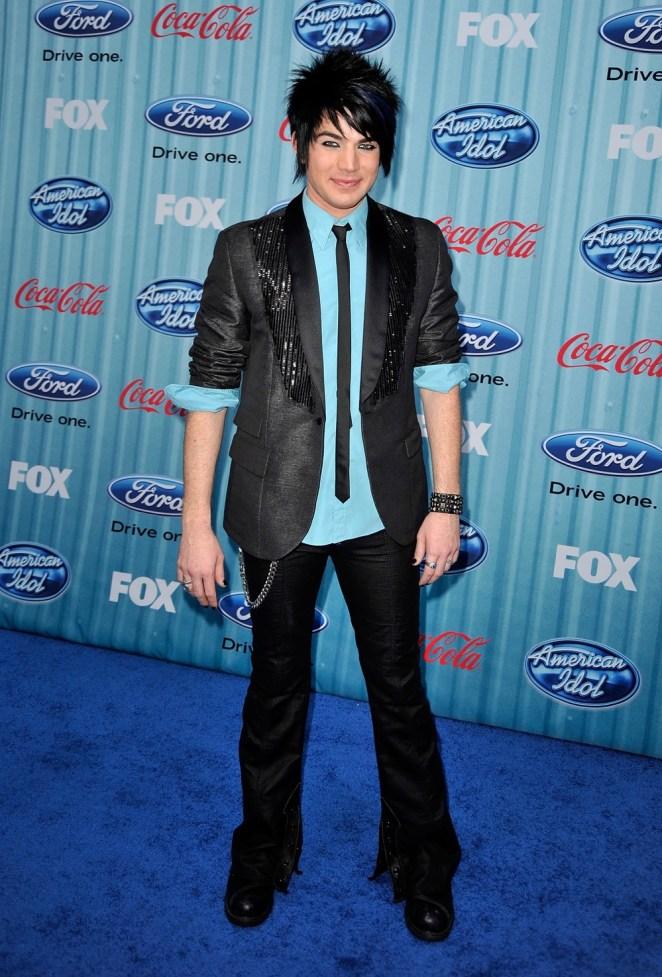 Adam Lambert American Idol Top 13 Party