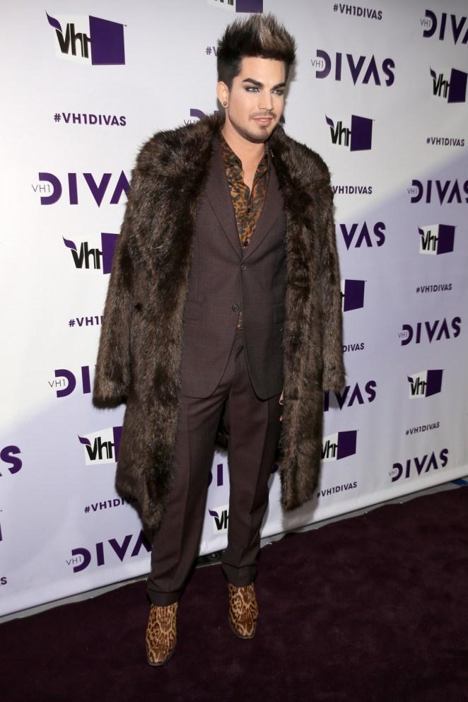 "Adam Lambert ""VH1 Divas"" 2012 - Red Carpet"