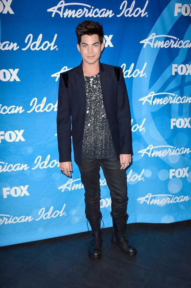 "Adam Lambert Fox's ""American Idol 2013"" Finale - Results Show - Press Room"