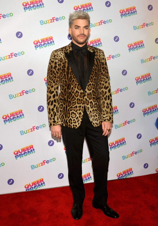 Adam Lambert attends the Glamour Women of The Year awards 2017 at Berkeley Square Gardens on June 6, 2017 in London, England.