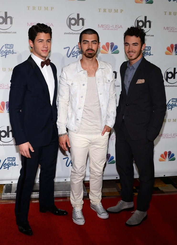 Jonas Brothers 2013 Miss USA Competition - Arrivals