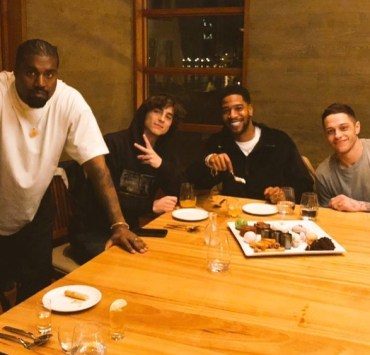 Pete Davidson, Kanye West, Timothée Chalamet and Kid Cudi Went to Dinner