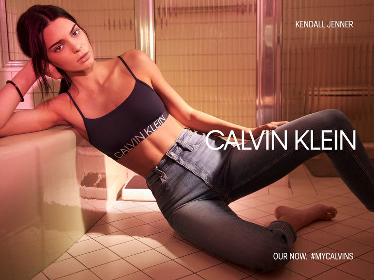 Kendall Jenner Calvin Klein Underwear and Jeans