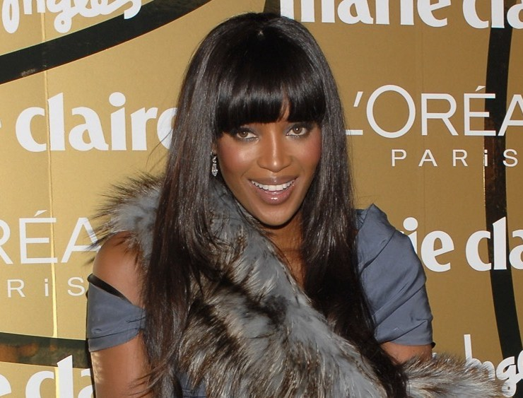 Naomi Campbell 5th Marie Claire Magazine Awards