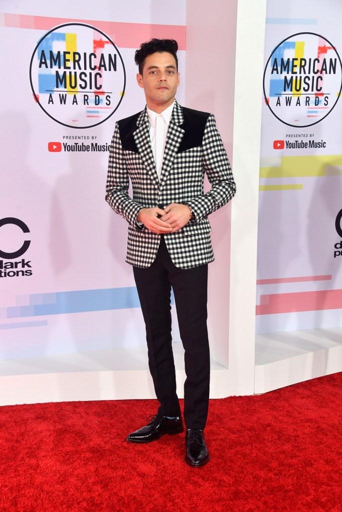 Rami Malek 2018 American Music Awards - Arrivals