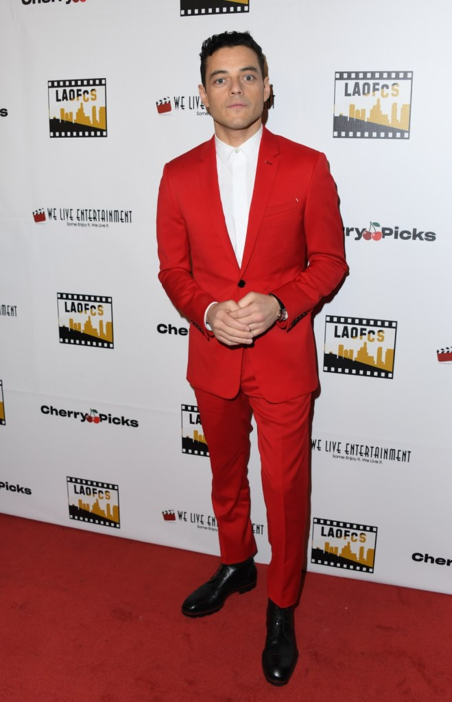 Rami Malek 2nd Annual Los Angeles Online Film Critics Society Award Ceremony