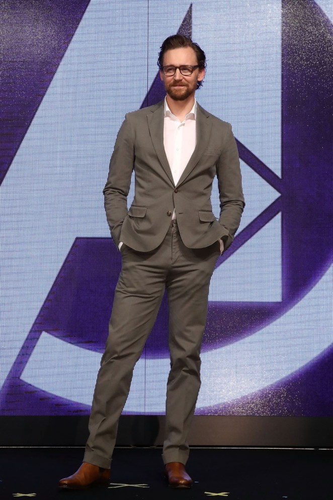 Tom Hiddleston 'Avengers Infinity War' Press Conference In Seoul