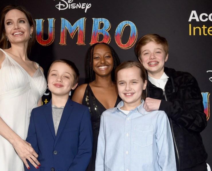 Angelina Jolie US-ENTERTAINMENT-DISNEY-FILM-DUMBO
