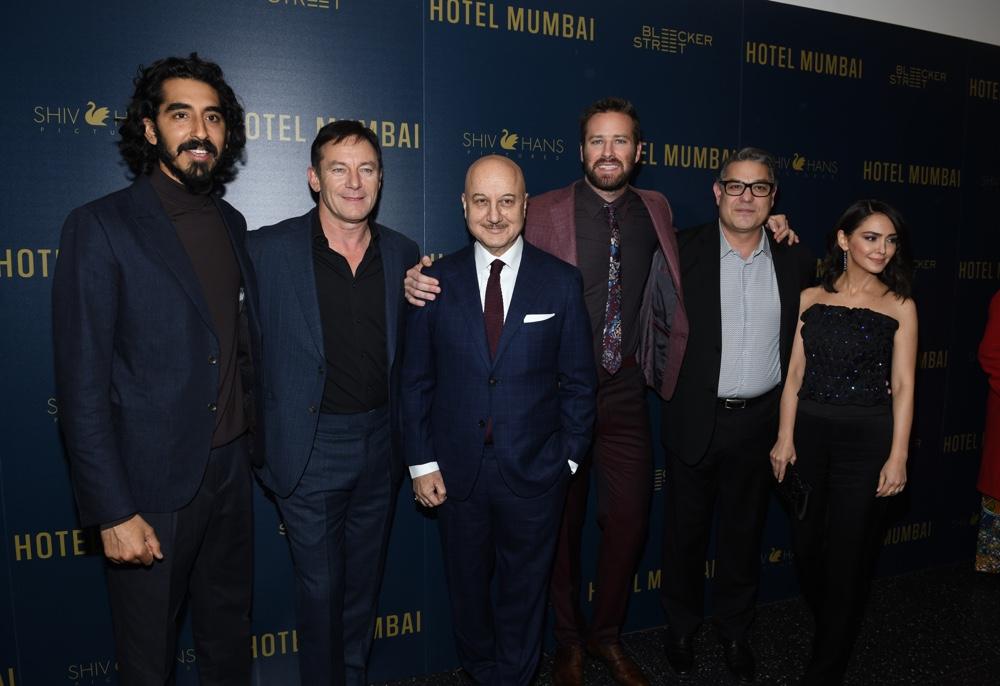 "Armie Hammer ""Hotel Mumbai"" New York Screening"