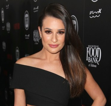 Lea Michele Vanity Fair And FIAT Young Hollywood Celebration - Red Carpet
