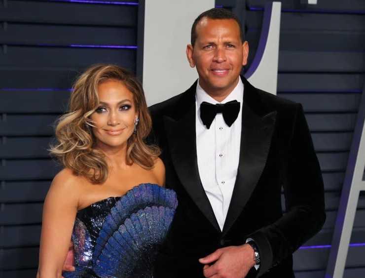 Jennifer Lopez Alex Rodriguez US-OSCARS-VANITYFAIR-PARTY