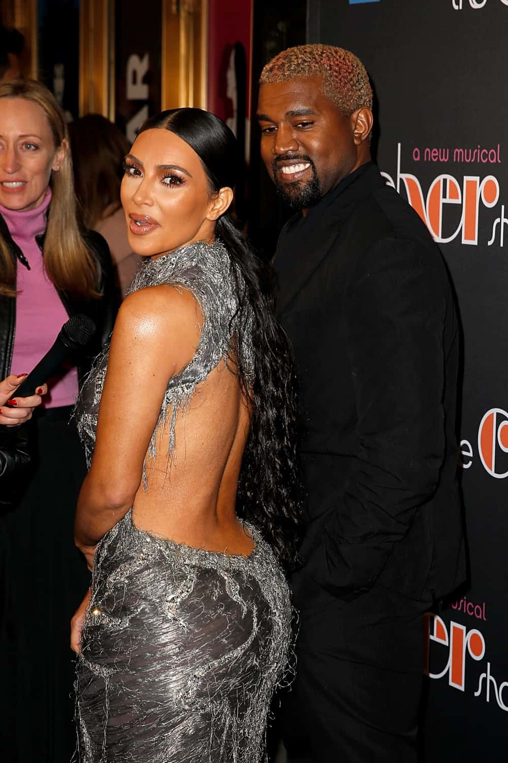 "Kanye West and Kim Kardashian West ""The Cher Show"" Broadway Opening Night"
