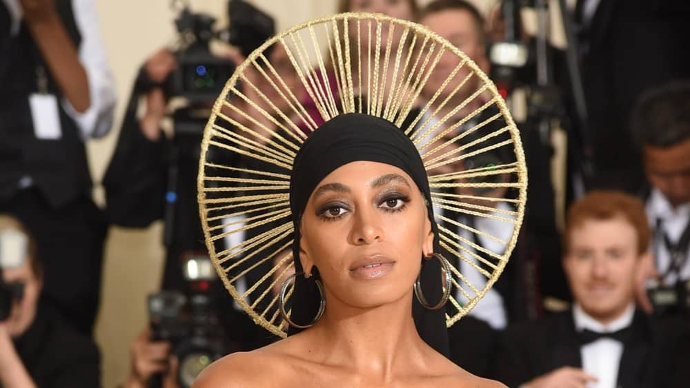 Solange Heavenly Bodies: Fashion & The Catholic Imagination Costume Institute Gala - Arrivals
