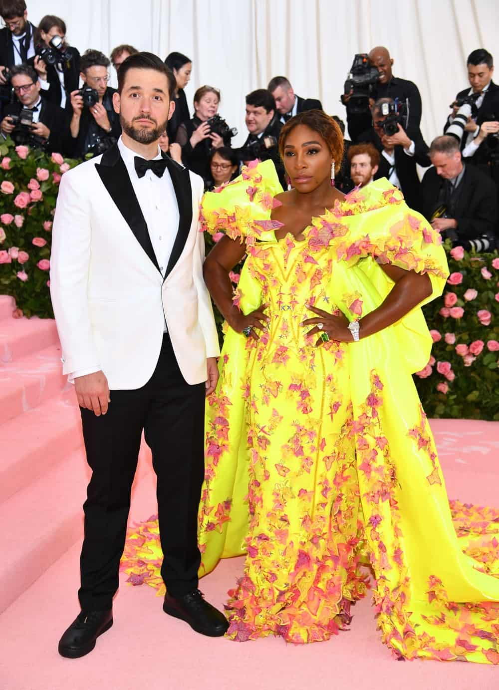 Serena Williams and Alexis Ohanian The 2019 Met Gala Celebrating Camp: Notes on Fashion - Arrivals
