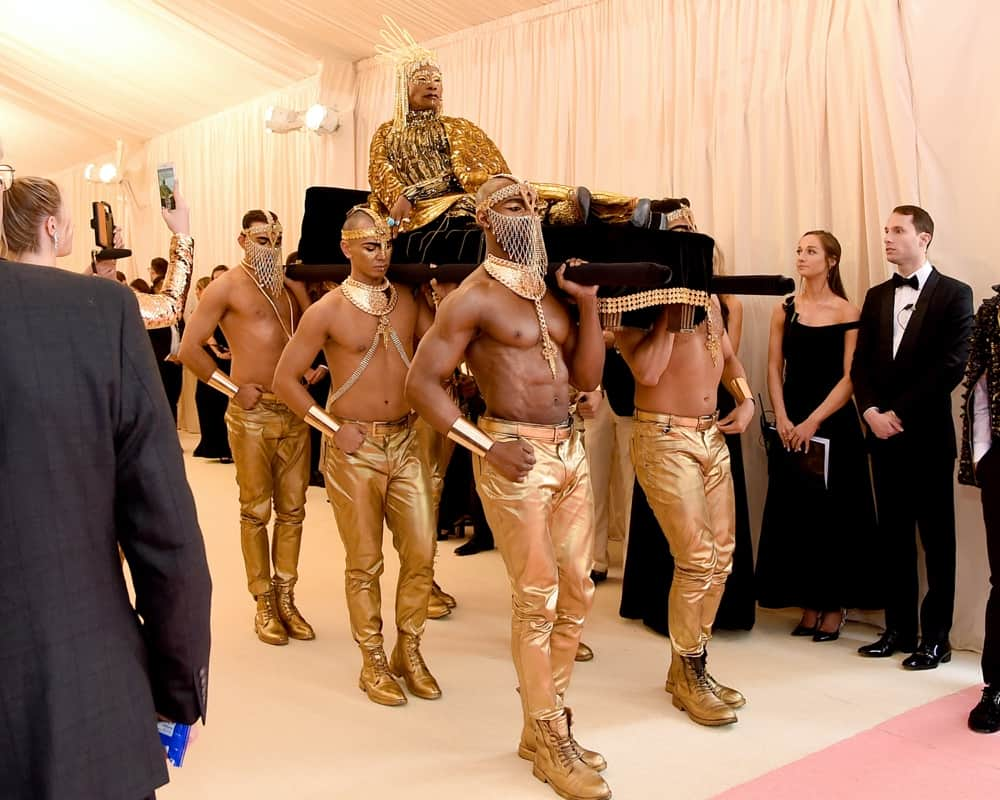 Billy Porter The 2019 Met Gala Celebrating Camp: Notes on Fashion - Arrivals