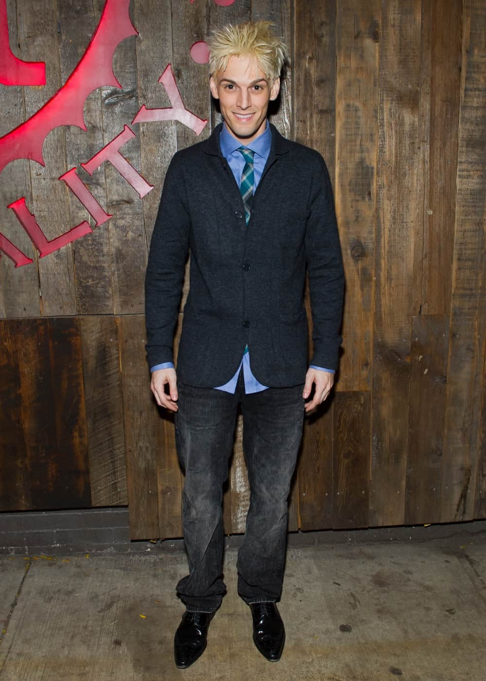 """Aaron Carter Party For Aaron Carter's Off-Broadway Opening Night In """"The Fantasticks"""""""