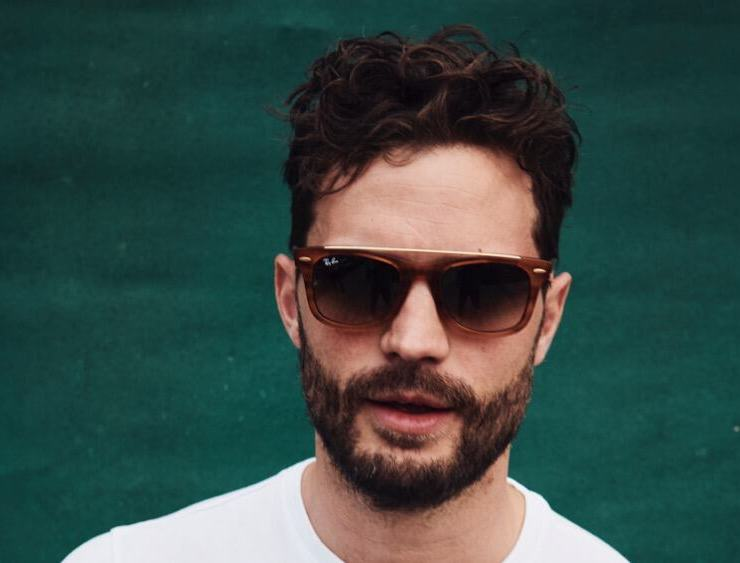 Jamie Dornan at Ray Ban Studios during All Points East Festival 2019