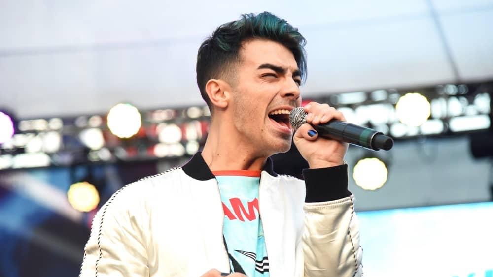 Joe Jonas at the 102.7 KIIS FM's Jingle Ball Village