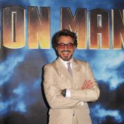 """Robert Downey Jr Photo Call For Paramount Pictures & Marvel Entertainment's """"Iron Man 2"""""""