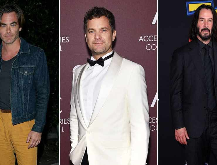 Red Carpet Recap: Chris Pine, Keanu Reeves, Joshua Jackson, and More 1