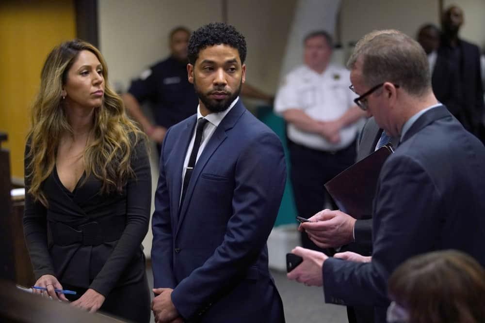 Jussie Smollett in Court