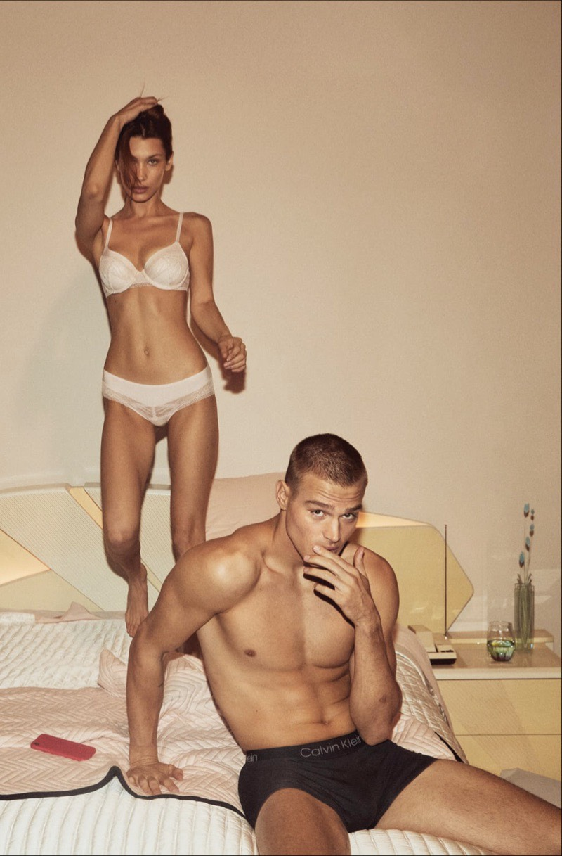 Bella Hadid and Matthew Noszka