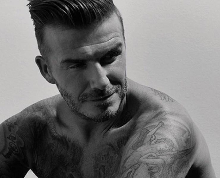 David Beckham For AnOther Man